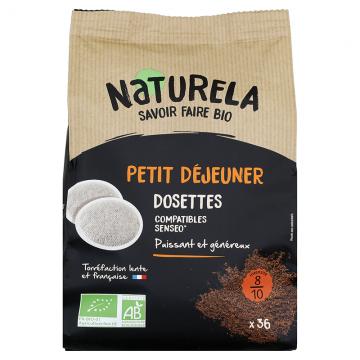 Café dosettes souples Petit Déjeuner