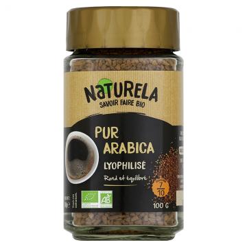 Café Instantané 100% Arabica bio