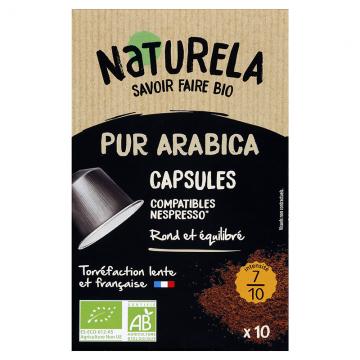 Café capsules Pur Arabica