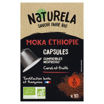 Café capsules Moka Ethiopie
