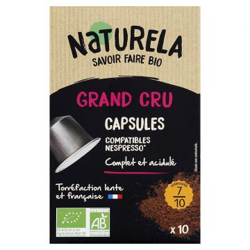 Café capsules Grands crus