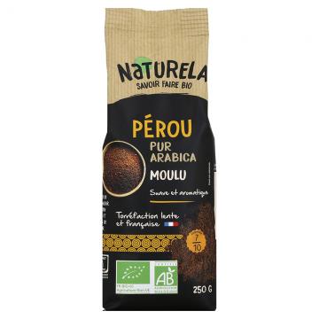 Café Moulu Pérou 100% Arabica