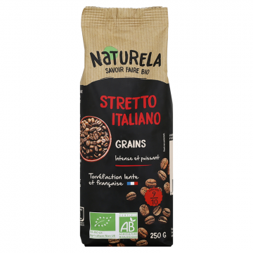 Café en Grains - Stretto Italiano - 250g