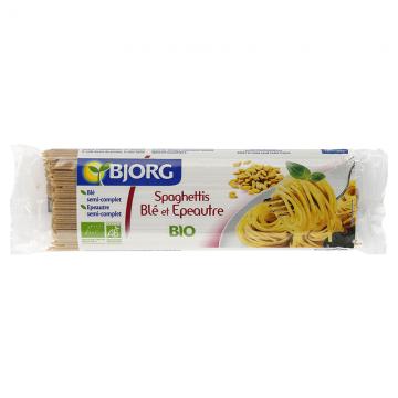 Spaghettis Blé et Épeautre Bio