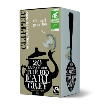Clipper Bags of our Thé Earl Grey bio