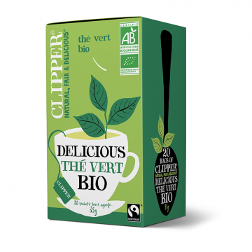 Thé vert pur bio